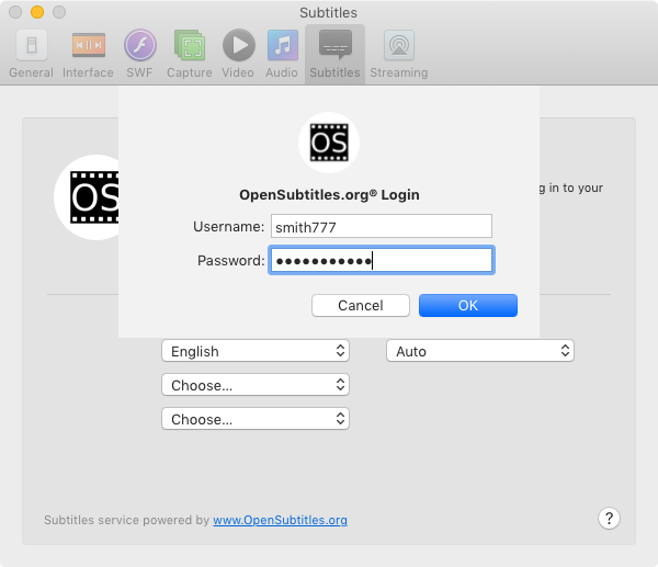 Opensubtitles Login And Password