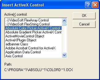 How to register/activate activex component mscomm32. Ocx on windows.