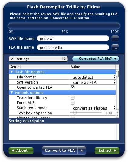 Fla To Swf Converter