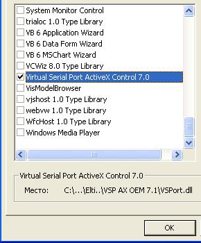 Virtual Serial Port ActiveX Control Installation tips | KB